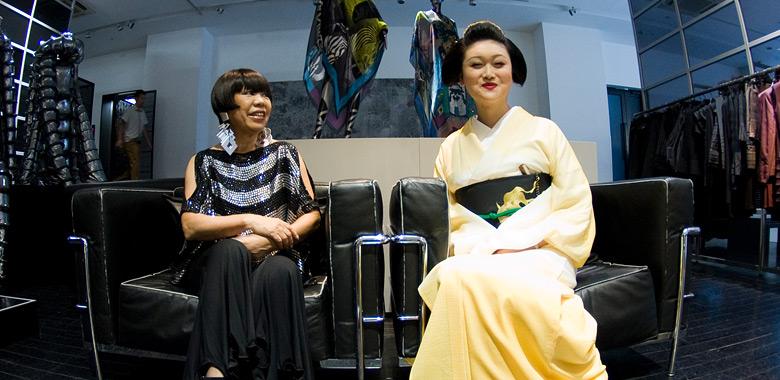 4. コシノジュンコさんにとっての、パリと岸和田、そしてお母ちゃん。
