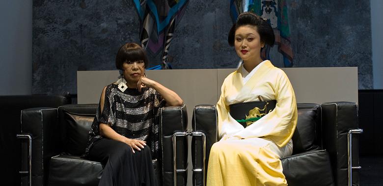 コシノジュンコさんと、矢部慎太郎と、淋派。